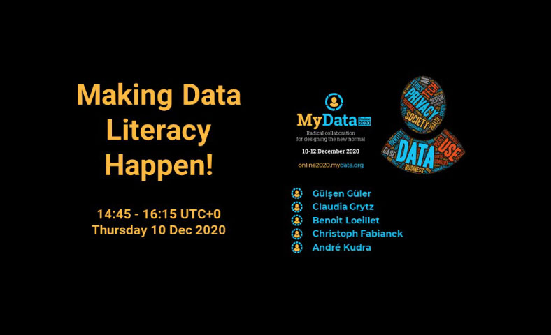 """Read more about the article MyData 2020 – """"Making Data Literacy Happen!"""""""